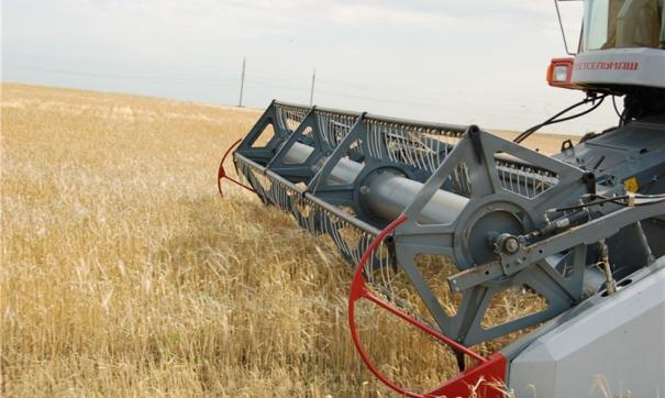 Всего в полях предполагается задействовать 2,7 тысяч зерноуборочных комбайнов
