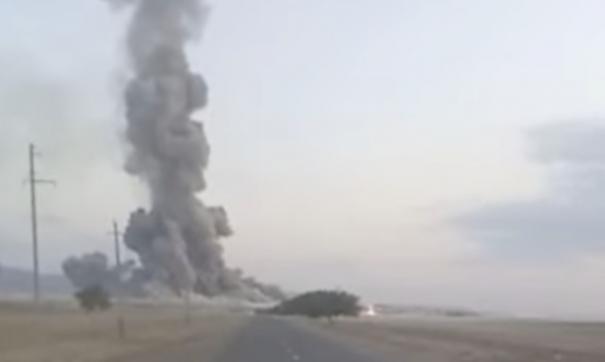 Число жертв взрывов на складе боеприпасов в Казахстане увеличилось