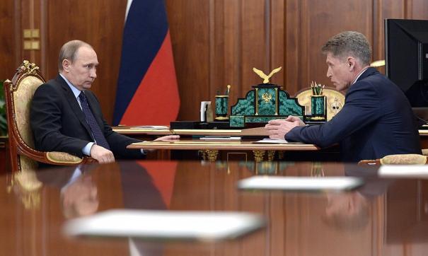 Визит Путина продлится с 1 по 4 сентября
