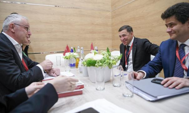 Губернатор провел ряд встреч с руководителями торговых сетей