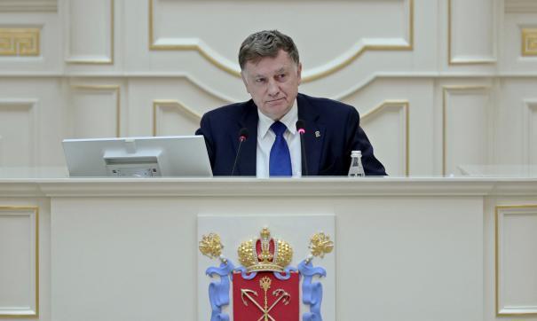 Спикер петербургского ЗакСа Вячеслав Макаров