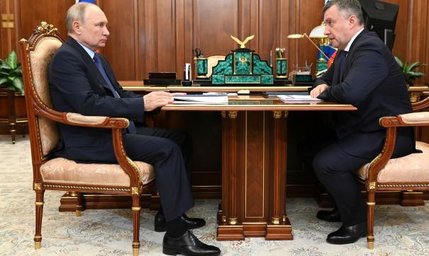 Встреча Путина с Кобзевым