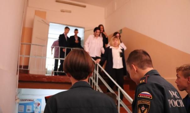 Тренировку организовали на базе участковой избирательной комиссии №136