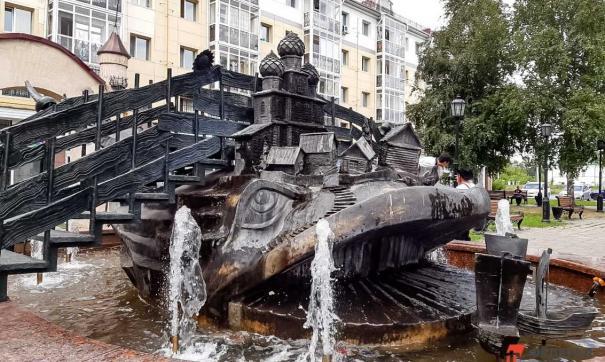 Памятник Коньку горбунку