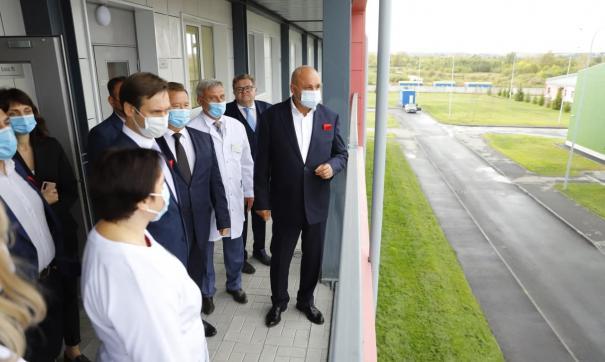 Власти назвали сроки строительства дороги к новой больнице в Новокузнецке