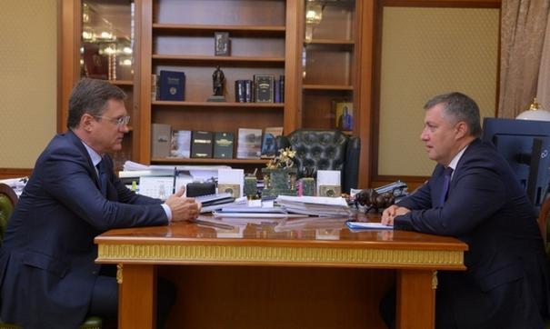 Во время встречи обсудили повышение уровня газификации Иркутской области