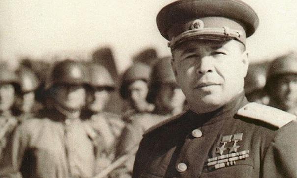 Дважды Герой Советского Союза Афанасий Павлантьевич Белобородов