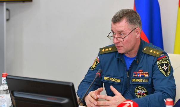 Глава МЧС России Евгений Зиничев погиб 8 сентября на севере Красноярского края