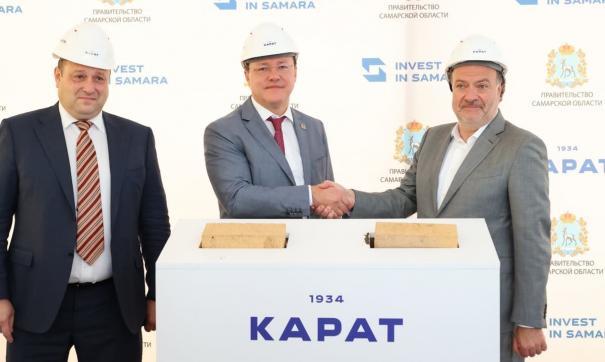 Старт строительству дал губернатор Дмитрий Азаров