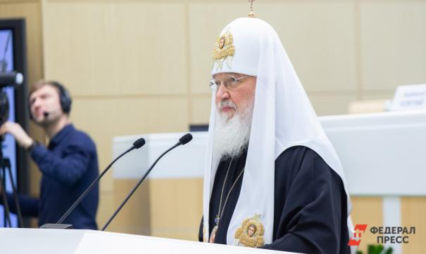 Патриарх голосовал вне избирательного участка