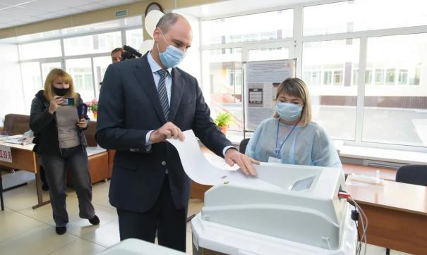 Глава региона также призвал голосовать всех Оренбуржцев