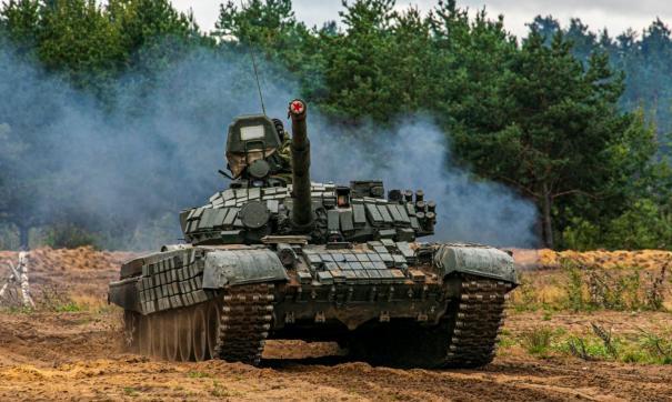 Около села Мулино Нижегородской области расположен один из самых крупных танковых полигонов в стране