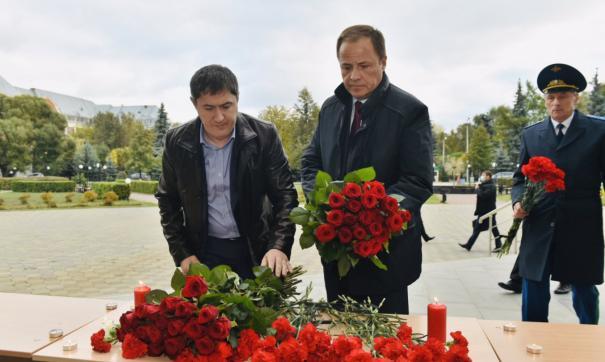 Глава региона отдал дань памяти погибшим в Пермском университете