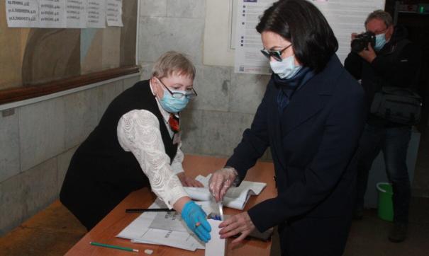 Мэр Челябинска Котова проголосовала на выборах