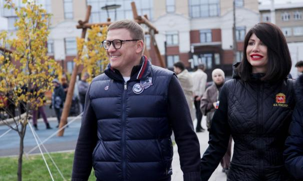 В Челябинске официально открыли новую набережную вдоль реки Миасс