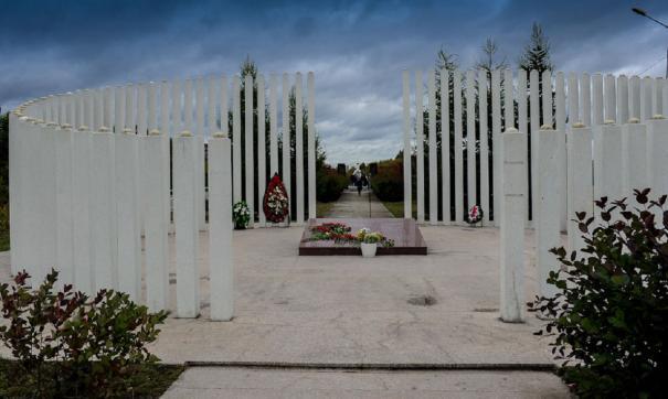 Мемориальный комплекс на месте крушения Боинга в Перми