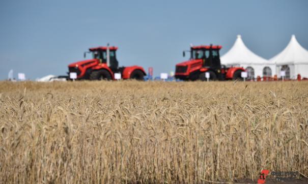 Уборка урожая тракторы
