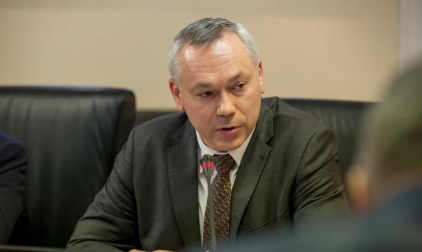 Новосибирский губернатор Андрей Травников назвал QR-коды разумной мерой