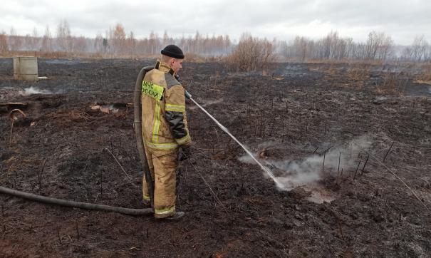 Изобретение Ивана Бадьина разрабатывалось специально для тушения пожаров на торфяниках