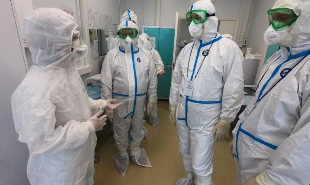 Вчера Хабиров посетил ковид-госпиталь в Зубово