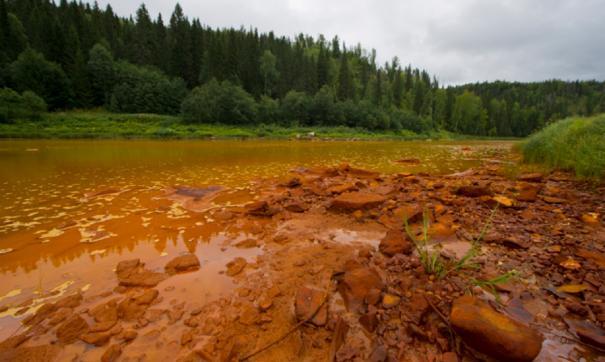 Загрязнение рек изливами КУБа