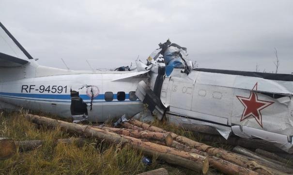 Воздушное судно совершило жесткую посадку утром 10 октября