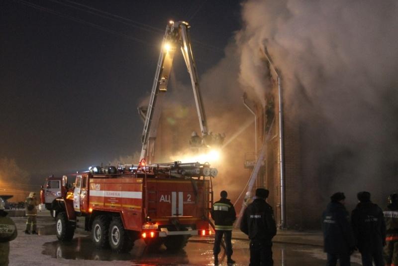 Названа предварительная причина пожара в«Доме афганцев» вБарнауле