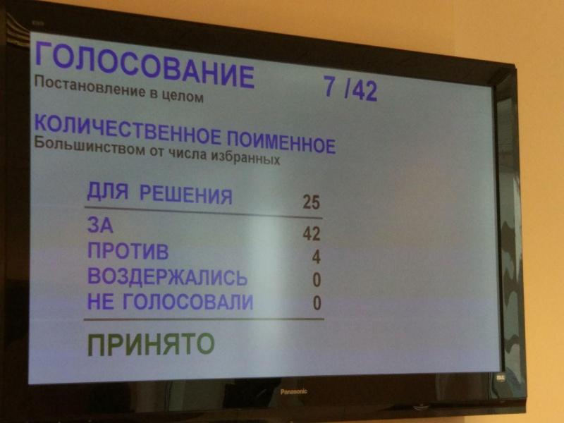 Губернатор подписал закон оботмене прямых выборов главы города Екатеринбурга