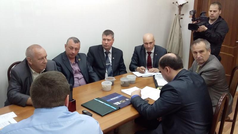 общественники встретились с руководством завода