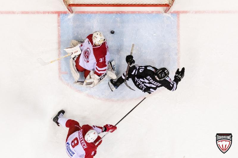 «Витязь» обыграл «Трактор» вЧелябинске впервый раз  с2012 года