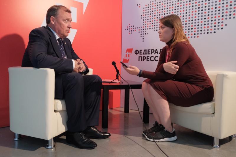 Первый вице-губернатор Свердловской области Алексей Орлов