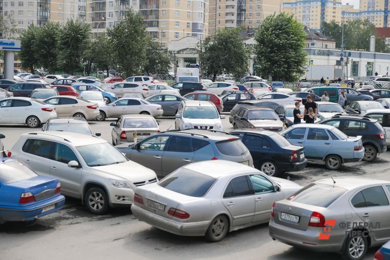 Количество авто в Тюмени только растет