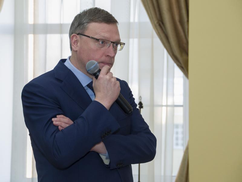 Губернатор Омской области Александр Бурков решает транспортный вопрос