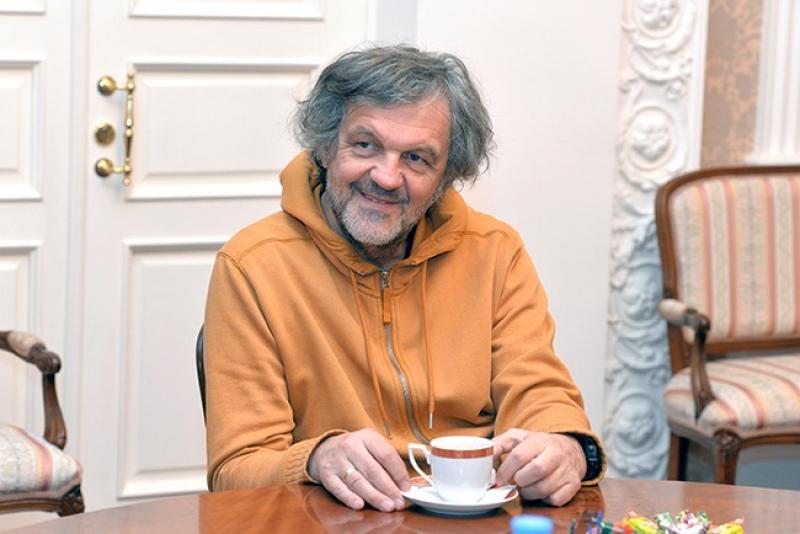 Эмир Кустурица приехал в Омск