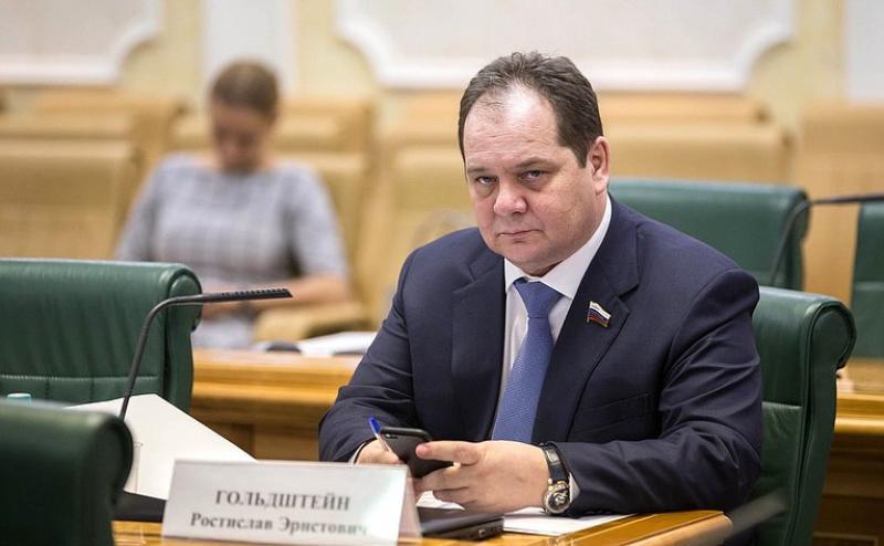Врио губернатора ЕАО Ростислав Гольдштейн