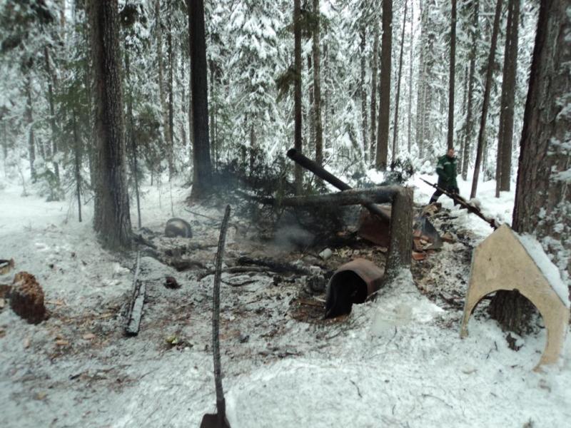 Пожар в Нижневартовском районе