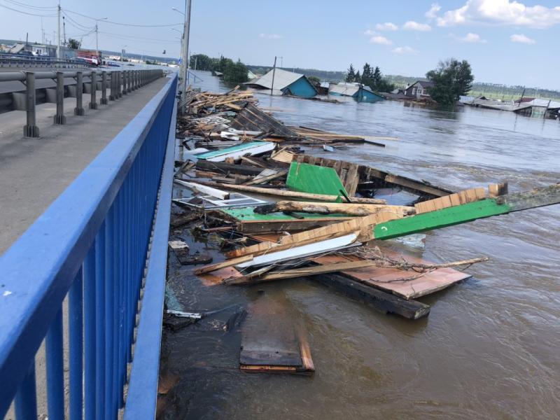 Наводнение в Иркутской облшасти