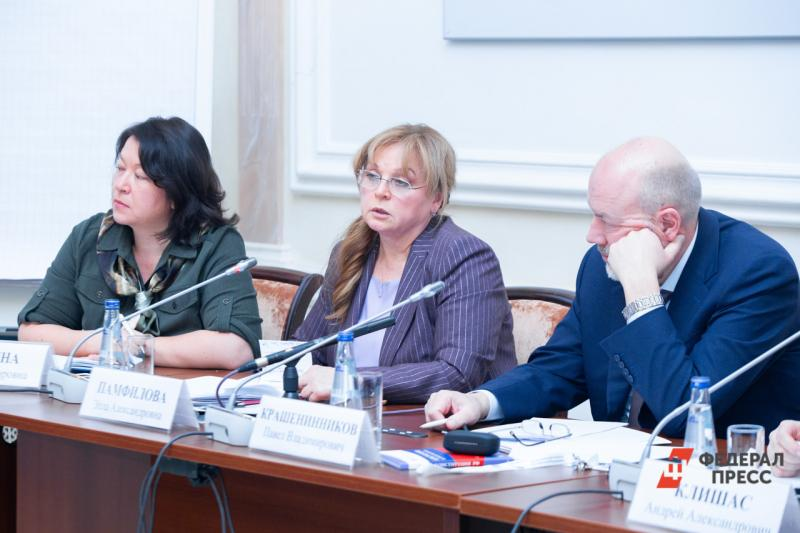 Элла Памфилова высказалась за голосование в будний день