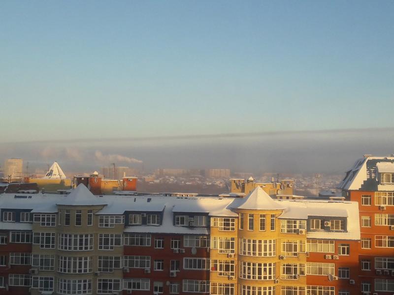 Выбросы в Омске