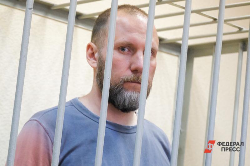 Артемий Кызласов на суде