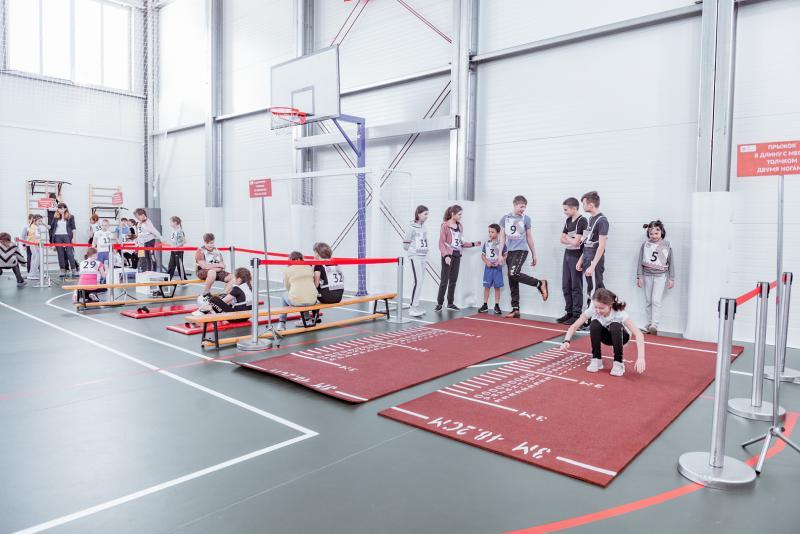 В Угуте появился новый спортивный комплекс