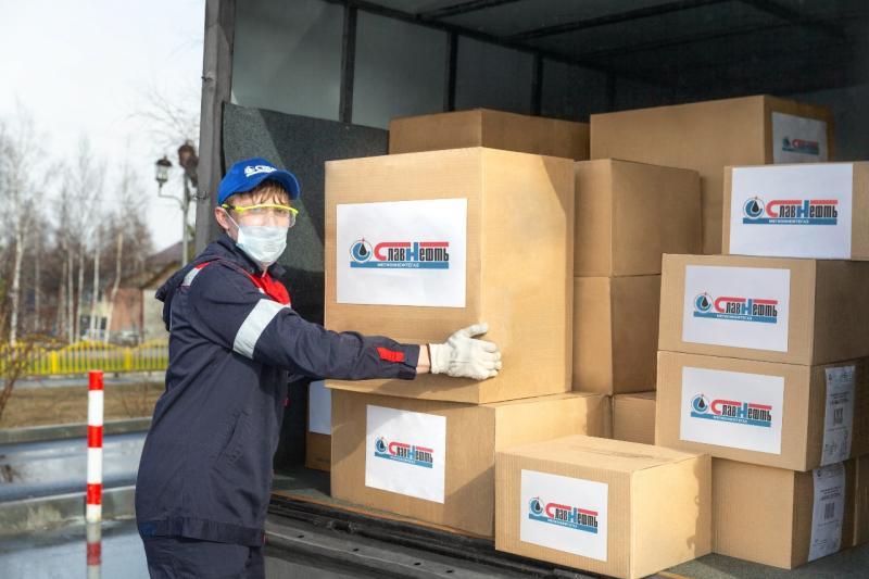 Наталья Комарова поблагодарила «Мегионнефтегаз» за помощь в борьбе с коронавирусом
