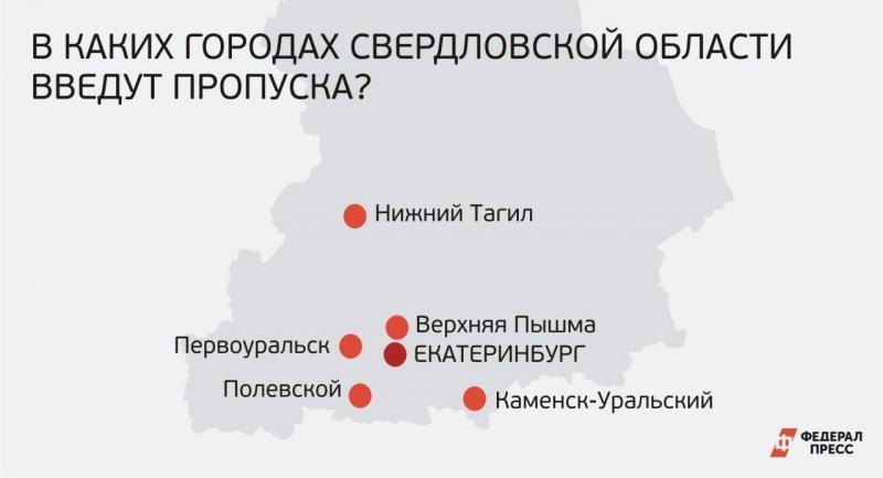 пропускной режим в Свердловской области