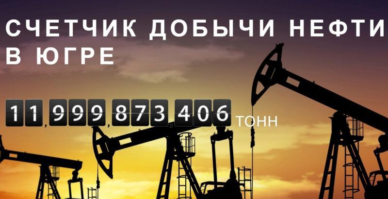 Счетчик нефти