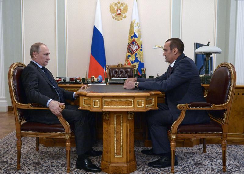 Путин и Игнатьев в Кремле