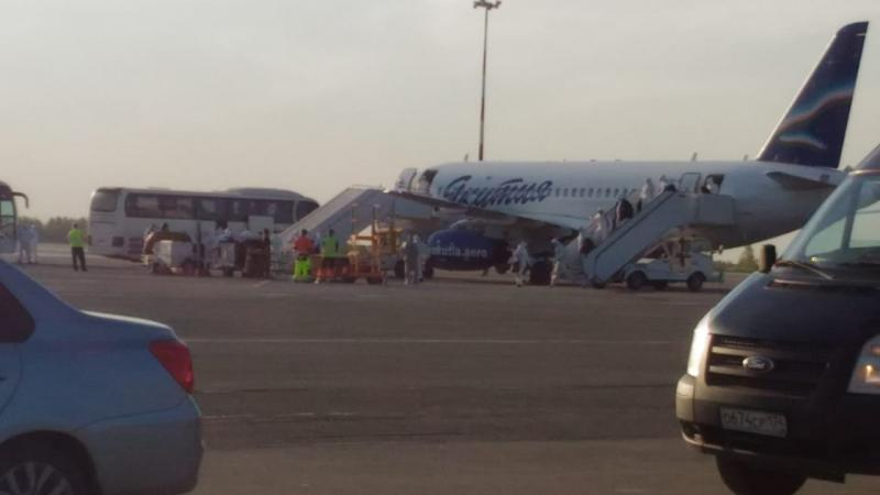 В Челябинск прилетело 98 вахтовиков из Якутии