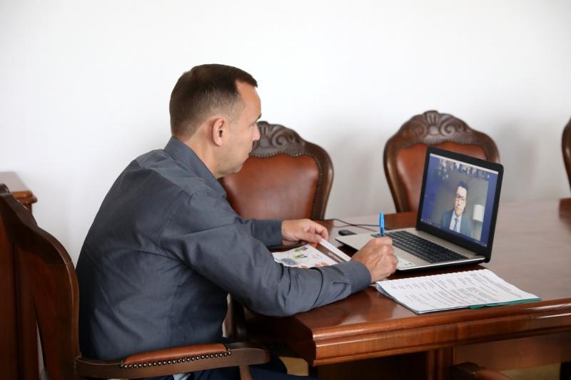 Вадим Шумков на онлайн-конференции с бельгийскими предпринимателями