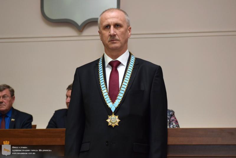 Виктор Ермишкин стал мэром города Шадринска
