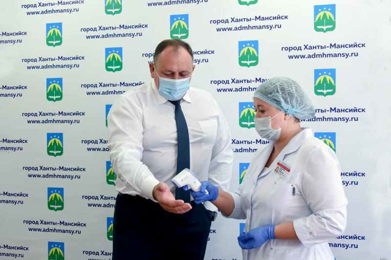 Максим Ряшин привился от гриппа