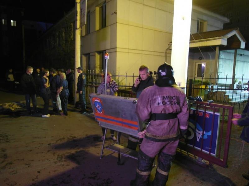 Пожар в наркодиспансере
